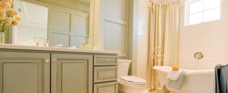 Don't Replace Kitchen and Bath Cabinets, Paint Them!