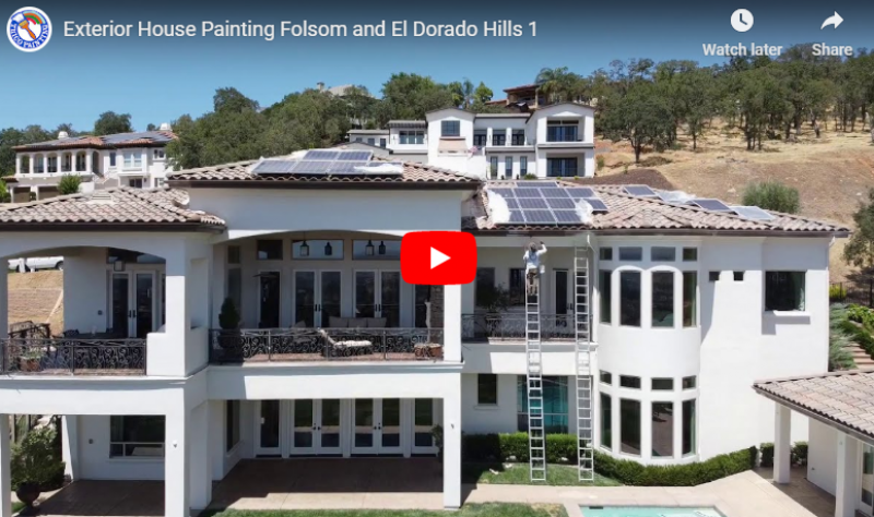 Exterior House Painting Folsom | Interior Painting Folsom